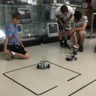 Robotika tábor a Neumann Társaság kiállításán